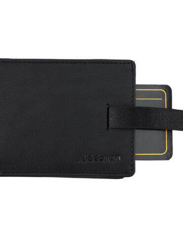 RFID Fresh Leather Bi-fold Wallet with Card Puller